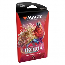 MAGIC THE GATHERING IKORIA THEME BOOSTER VERMELHO