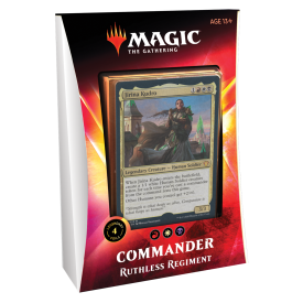 MAGIC THE GATHERING COMMANDER 2020 IKORIA RUTHLESS REGIMENT