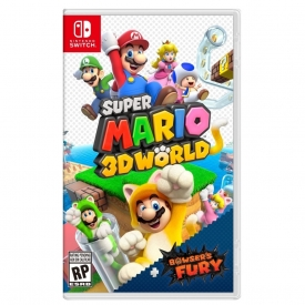 SUPER MARIO 3D WORLD + BROWSERS FURY SWITCH