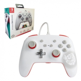 CONTROLE SWITCH POWER A ENWIRED MARIO WHITE