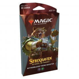 MTG STRIXHAVEN THEME BOOSTER WITHERBLOOM INGLES