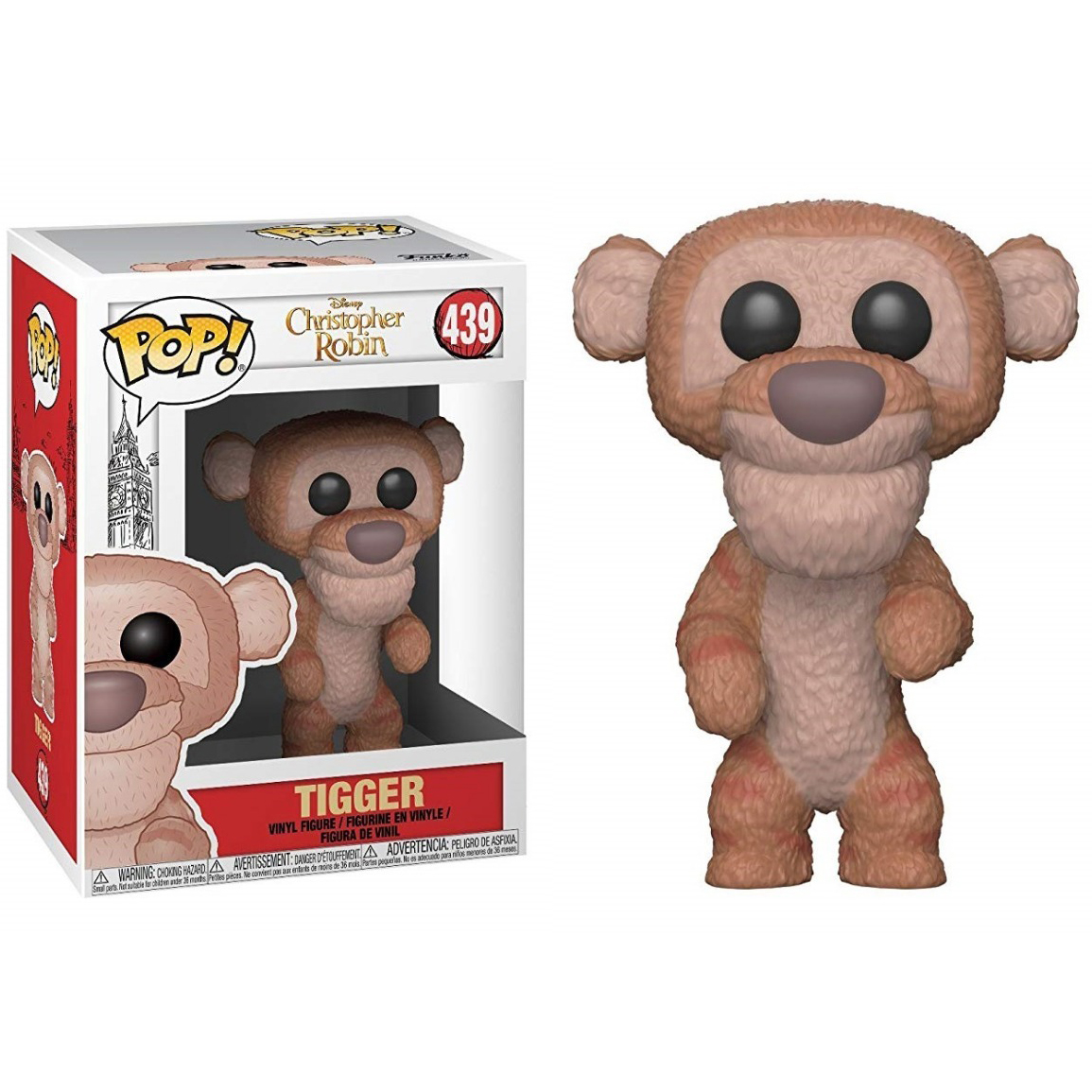 POP! FUNKO POP DISNEY CHRISTOPHER ROBIN TIGGER #439