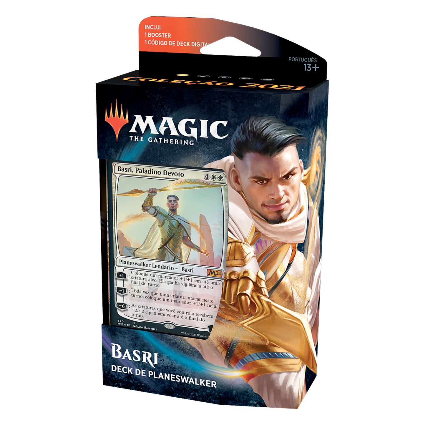MAGIC THE GATHERING M21 DECK DE PLANESWALKER BASRI