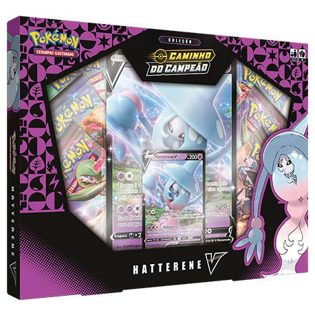 POKEMON BOX HATTERENE V