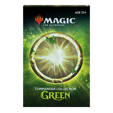 MAGIC THE GATHERING COMMANDER COLLECTION GREEN INGLÊS